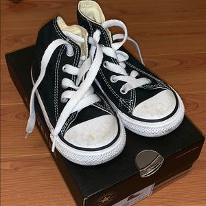 Black Converse Infant Sneakers